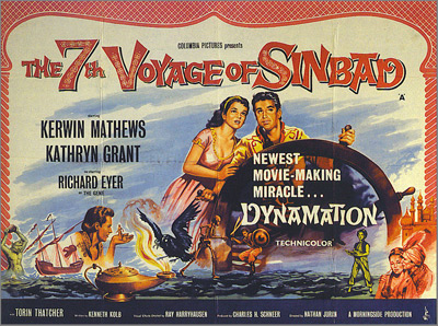 7th Voyage of Sinbad-Harryhausen