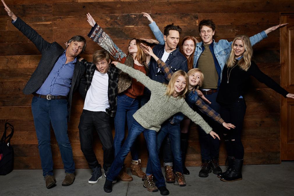 """Captain Fantastic"" - Viggo Mortensen, Nicholas Hamilton, Samantha Isler, Matt Ross, Shree Cooks, Annalise Basso, Charlie Shotwell, George MacKay and Erin Moriarty"