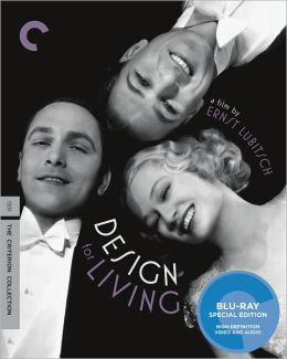 Design for Living blu-ray cover