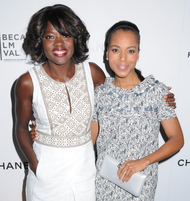 Viola Davis, Kerry Washington