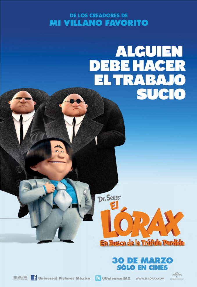 The Lorax Character poster skip crop