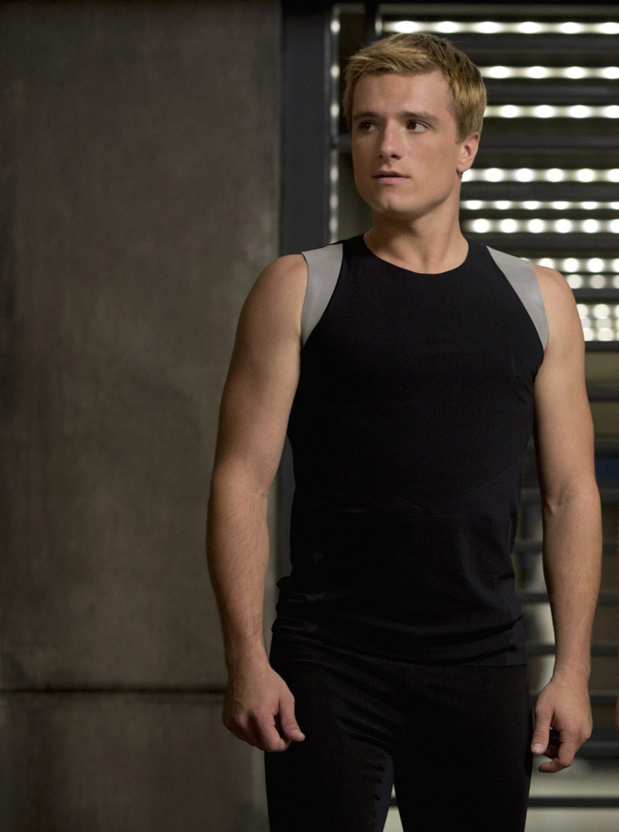 Josh Hutcherson in 'Hunger Games: Catching Fire'