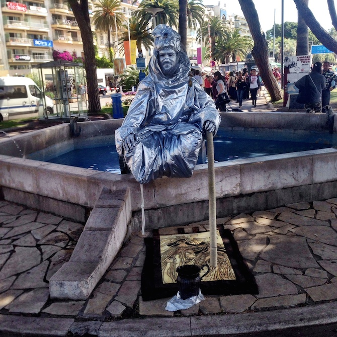 Silver Man Cannes