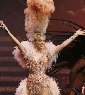 Kylie on tour
