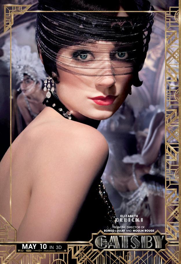Gatsby Character poster, Elizabeth Debicki (skip)