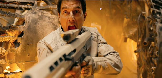 Oblivion, Tom Cruise (skip)