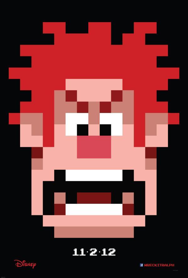 Wreck It Ralph Teaser Poster
