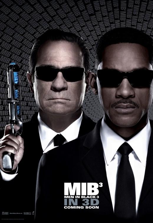 Men In Black 3 Poster Jones Smith