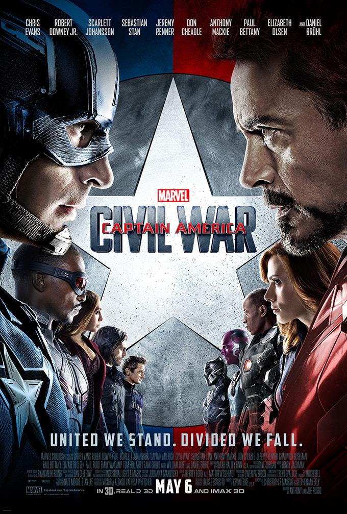 Captain America: Civil War, poster