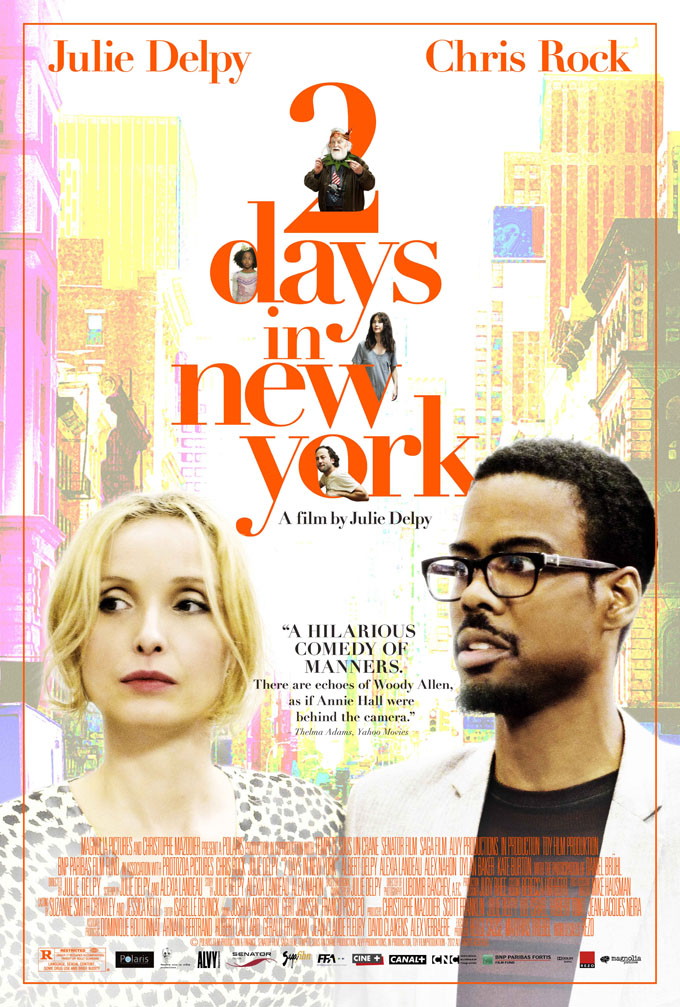 2 Days In New York, poster (skip crop)