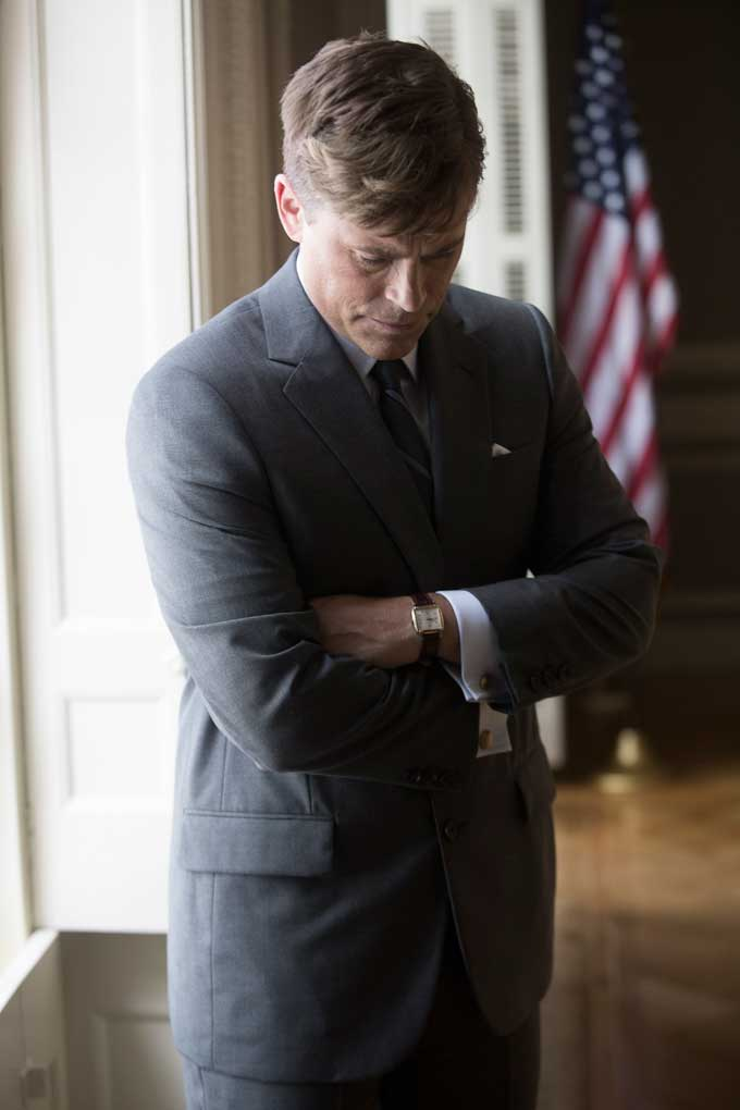 Rob Lowe in 'Killing Kennedy'