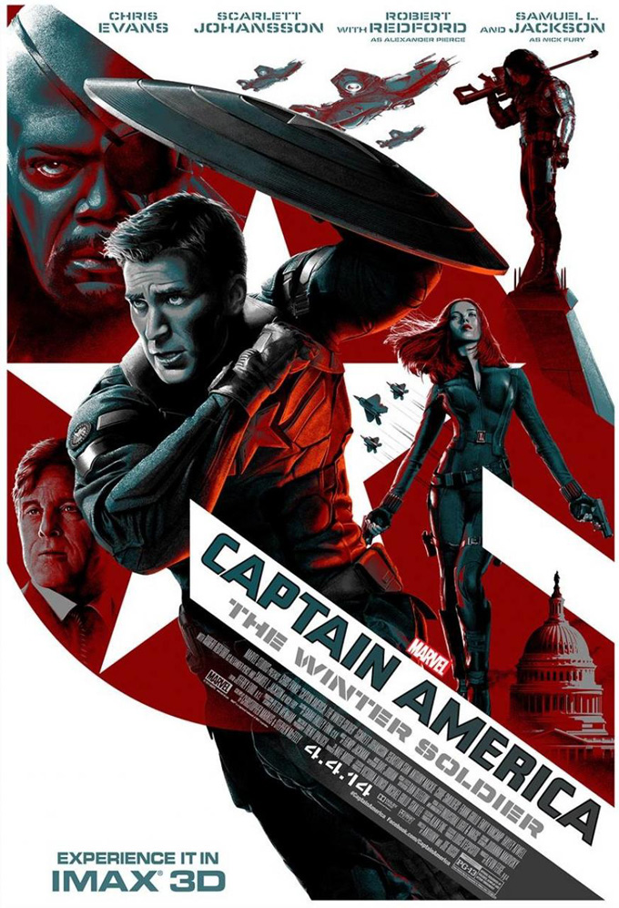 Captain America: The Winter Soldier, Imax poster