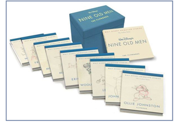 Nine Old Men Flipbooks-350