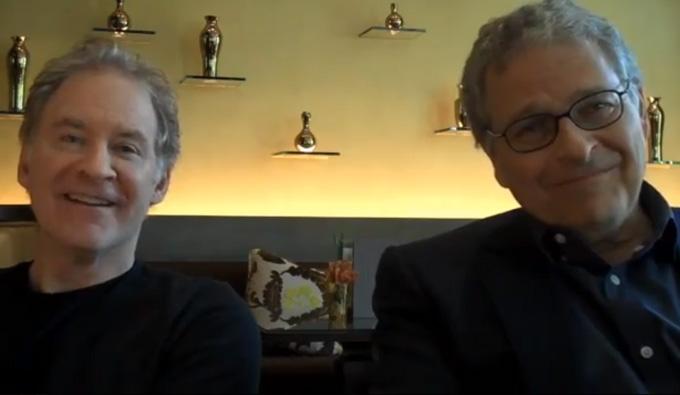Kline, Kasdan interview