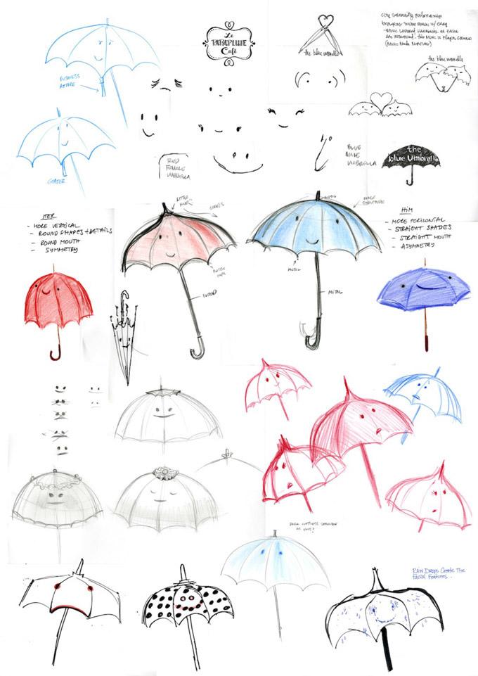 Blue Umbrella Test 4