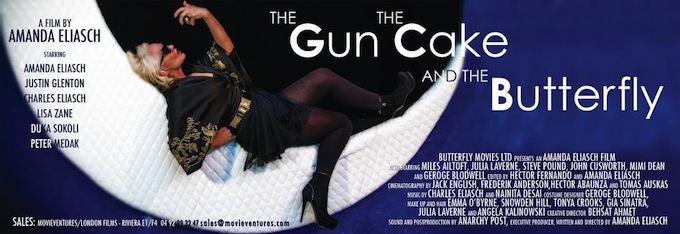 Gun the cake