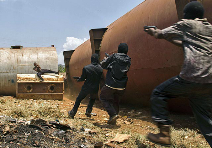 The Ugandan Expendables