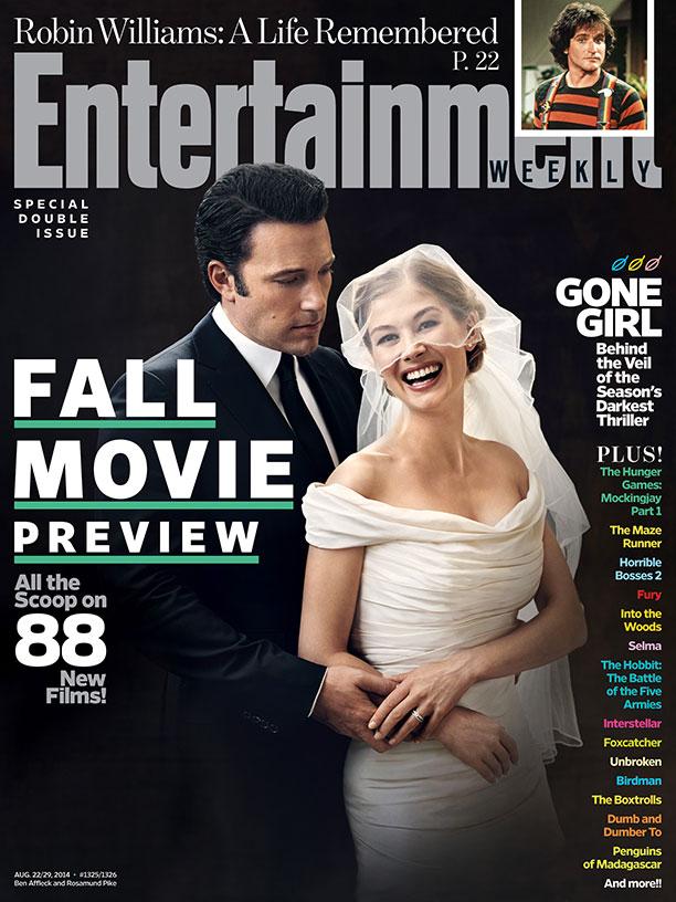 EW Gone Girl Cover