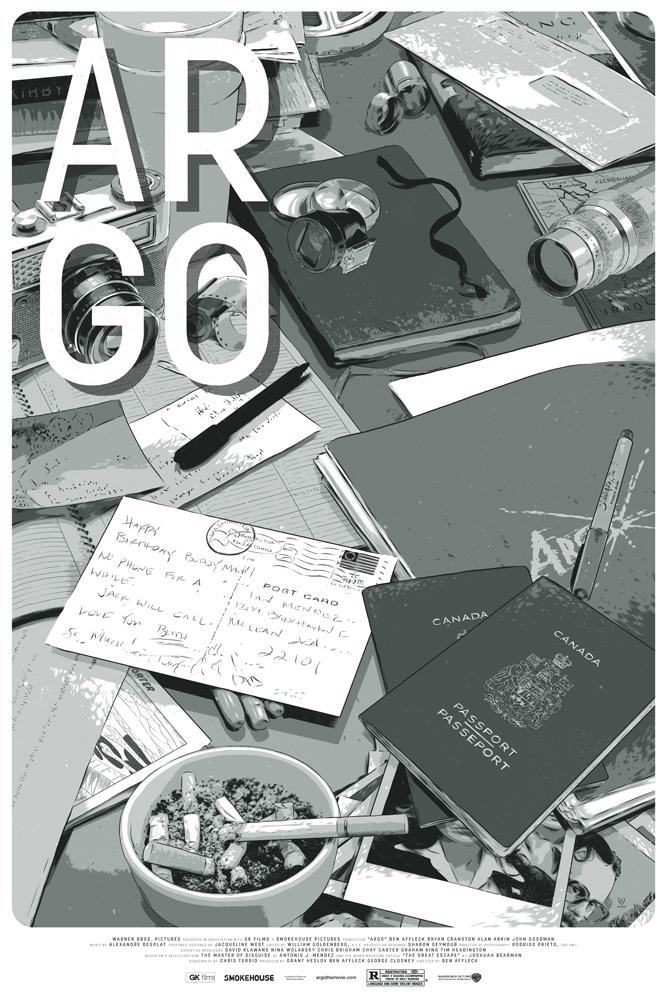 Argo poster Mondo