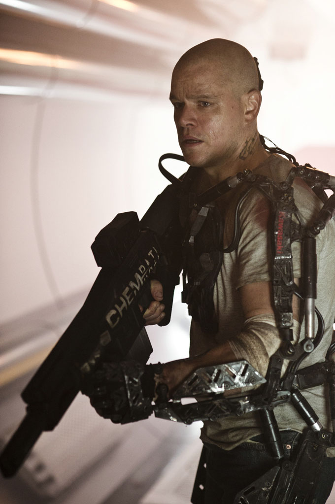 Matt Damon Elysium skip