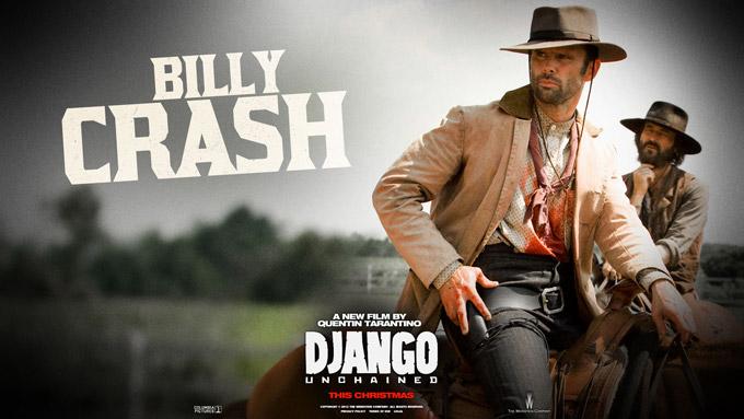 Django Wallpaper, Crash