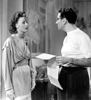 Cukor and Garbo