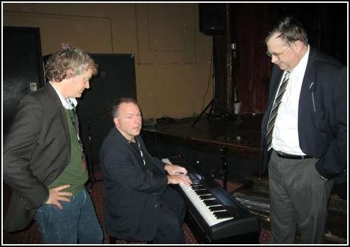 This year's cadre of accompanists, an extremely talented trio: Dr. Andrew Simpson, newcomer Jeff Rapsis (at the keyboard), and Dr. Philip C. Carli.