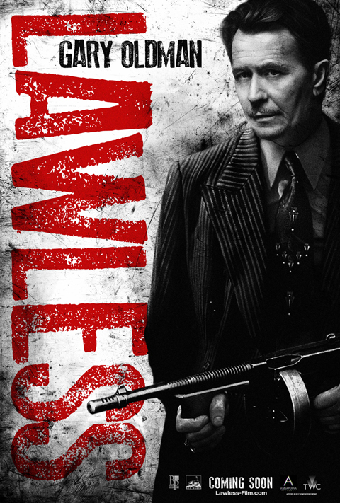 Gary Oldman Lawless poster