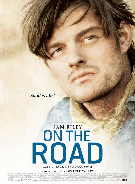Sam Riley On The Road Poster