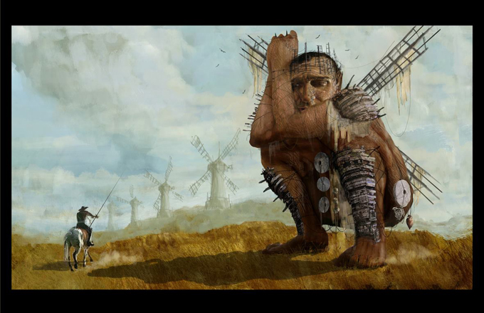 The Man Who Killed Don Quixote Concept Art