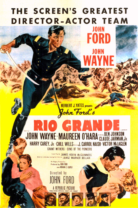 Johnson City Ford >> John Ford's 1950 John Wayne Western 'Rio Grande' To Screen as 65th Anniversary Tribute to ...