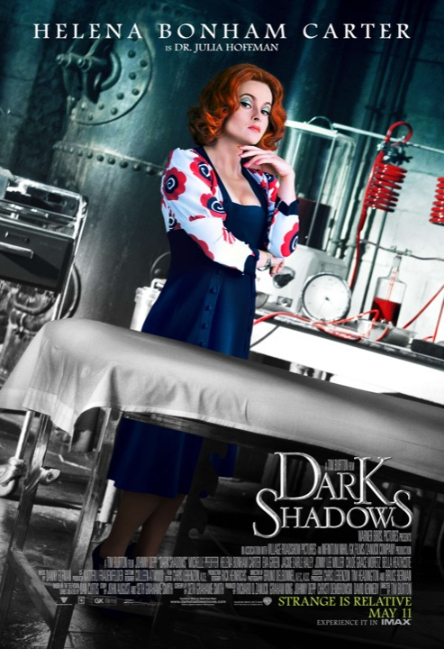 Dark Shadows Poster Helena Bonham Carter