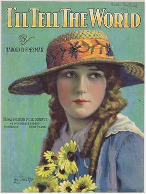 Mary Pickford Sheet Music-300
