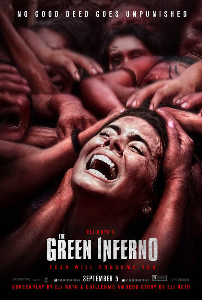 'The Green Inferno, poster