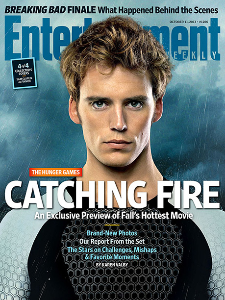 The Hunger Games: Catching Fire EW cover