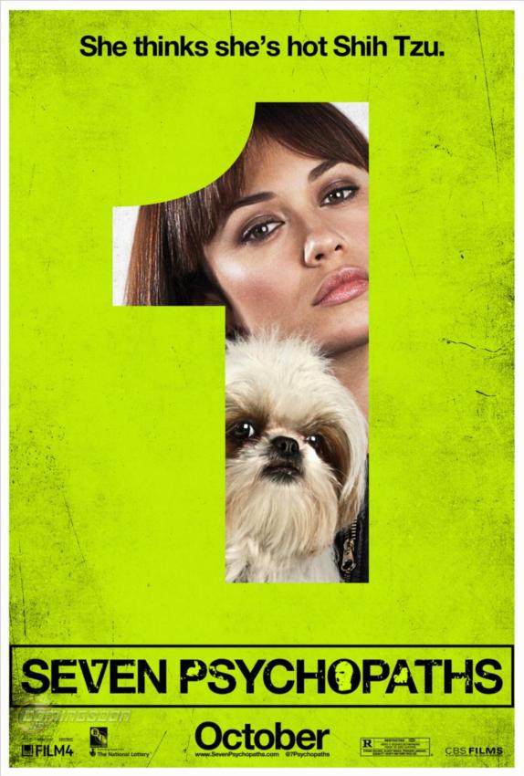 Olga Kurylenko Seven Psychopaths poster skip crop