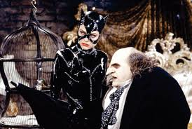 Tim Burton Batman returns catwoman penguin