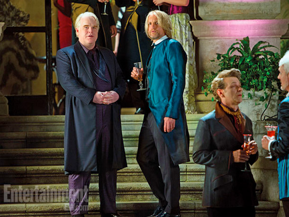 The Hunger Games: Catching Fire Philip Seymour Hoffman Woody Harrelson skip