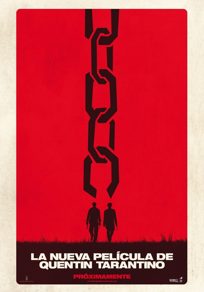 Django Unchained Spanish Poster
