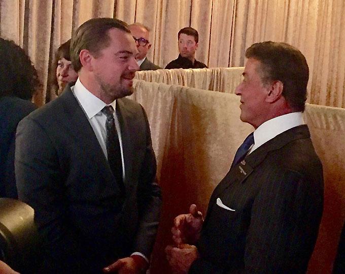 Leonardo Di Caprio-Sylvester Stallone