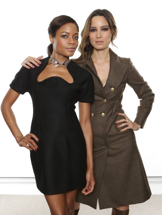 'Skyfall' Bond girls Naomie Harris and Berenice Marlohe