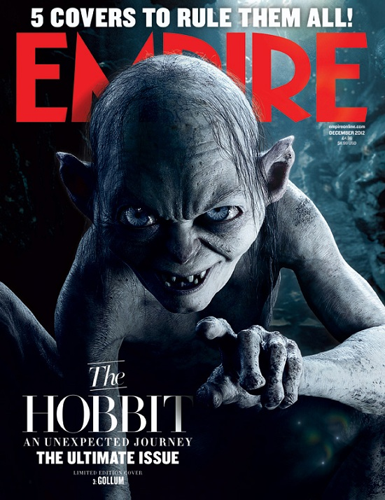 Gollum character cover Empire