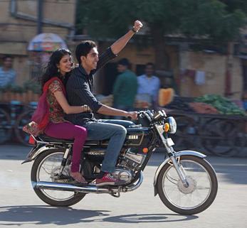 Dev Patel in Best Exotic Marigold Hotel