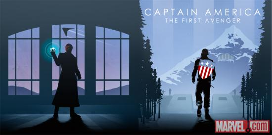 Marvel Captain America Phase One Art