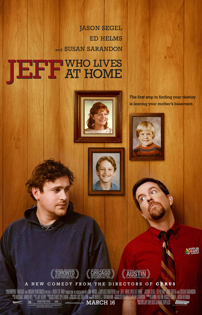 Jeff Who Lives At Home Poster