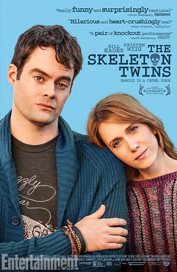 Skeleton Twins, poster