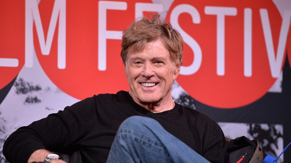 Robert Redford at the Sundance Film Festival in 2014