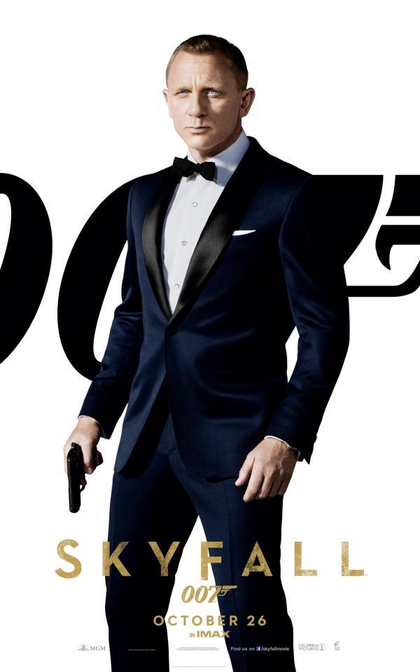 Skyfall Poster Daniel Craig