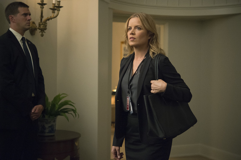 """House of Cards"" Season 4 Kim Dickens"