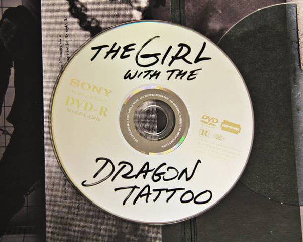 Dragon Tattoo DVD Disc skip crop